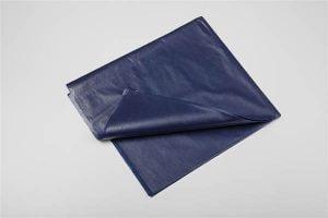 Laken disposable nonwoven Afm. 210x100cm Blauw  Ds 225 stuks