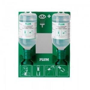 Plum Oogspoelstation 2x 500ml Sodium Chloride
