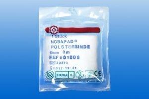 Synthetische wattenrol NOBAPAD. steriel. In folie