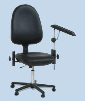 Bloedafname stoel kleur zwart