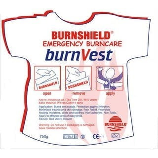 Burnshield Brandwonden vest