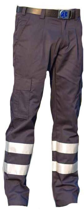 EHBO pantalon met striping. Kleur donkerblauw