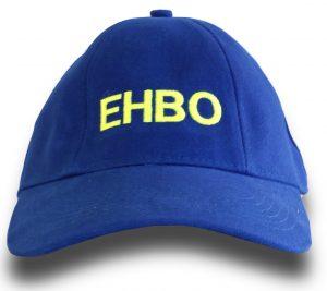 EHBO cap korenblauw met borduur logo