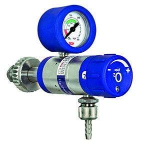 Reduceerventiel - flowmeter 0-25Ltr