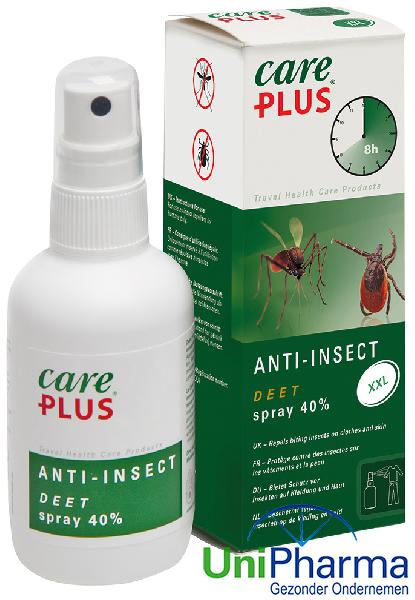 Deet Care Plus anti-insect spray 40%