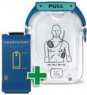 Philips HeartStart Combi-pakket ( Batterij & Electroden )