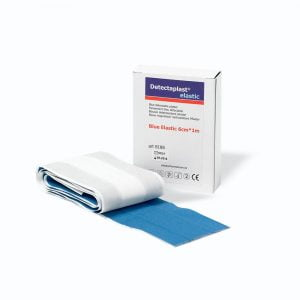 Detecteerbare wondpleister textiel (HACCP) strip 100 x 6 cm