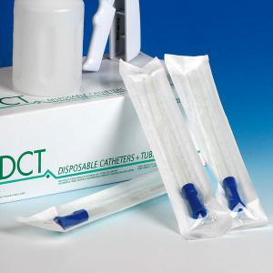 Afzuigcatheter DCT 20cm lang / CH26 Steriel / Ds 25 stuks