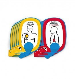Trainingselectroden kinderen Lifepak AED CR-Plus Set 5 paar