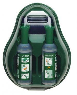 Oogspoelstation AS met 2 flacons Nacl zoutoplossing steriel