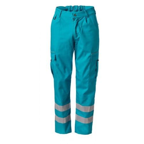 Ambulance pantalon kleur enamel blue