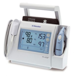 Ri-Vital®  Spot Check Monitor, Sensor+Manchet Kind