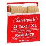 Salvequick 6444. navulling pleisters. textiel