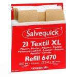 Salvequick navulling pleisters. textiel XL