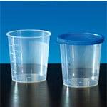 Urine bekers 125 ml met klikdeksel