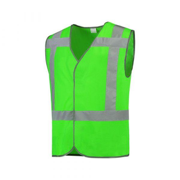 Veiligheidsvest RWS + reflectie Groen maat M/L  onbedrukt