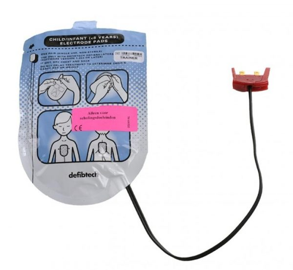 Electroden Defibtech Lifeline trainer voor kinderen