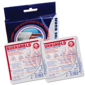 Burnshield Twinpack set van 2 stuks 10x10 met pocket guide