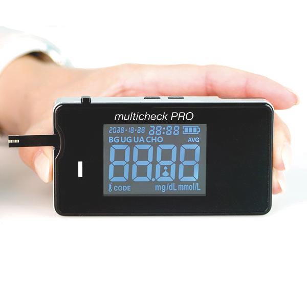 Lifetouch Multicheck Pro (Glucose, cholesterol en Urinezuur)