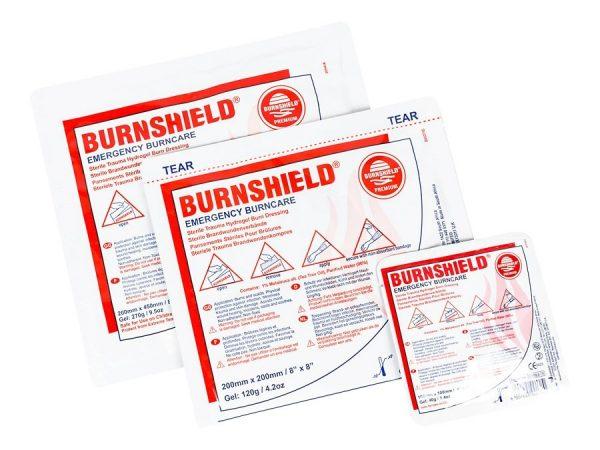 Brandwondkompres Burnshield Steriel afmeting 40 x 60 cm