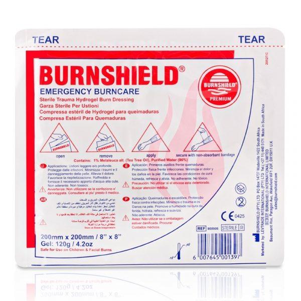 Brandwondkompres Burnshield Steriel afmeting 20 x 20 cm