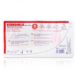 Brandwondkompres Limb Burnshield tbv lies en nek afm. 5cmx1m