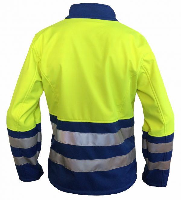 EHBO softshell jas zonder ruglogo