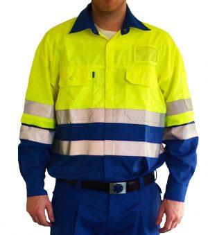 EHBO werkhemd met ruglogo ( oversized model )