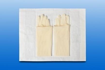 Gynaecologische handschoen SURGICARE Steriel Maat M (7.5)