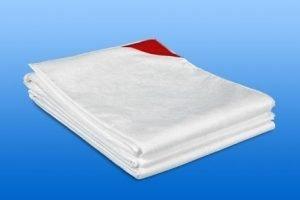Deken / laken 4 laags disposable NOBAKARP 110 x 190 cm