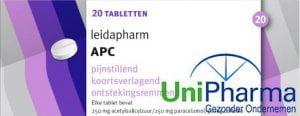 APC doosje 20 tabletten