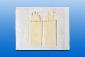 Gynaecologische handschoen SURGICARE steriel Maat S (6.5)