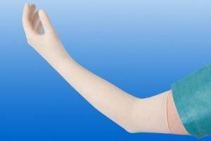 Gynaecologische handschoen SURGICARE Steriel Maat L (8.5)