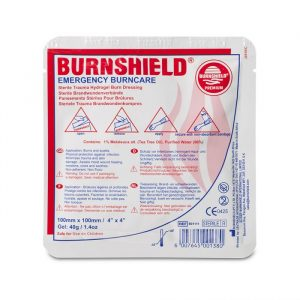 Brandwondkompres Burnshield Steriel afmeting 10 x 10 cm
