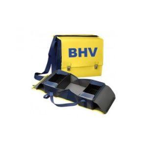 EHBO tas leeg kleur geel / blauw