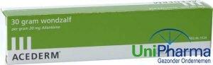 Acederm wondzalf voor dieren tube 30 gram