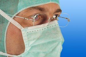 Mondmasker OK Noba met bandjes voor brildragers