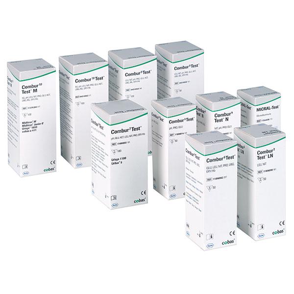 Combur 3 -Test E urine teststrips Roche