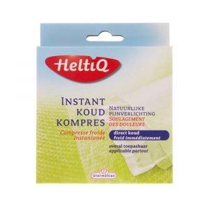 Heltiq instant koud kompres afmeting 14 x 15cm