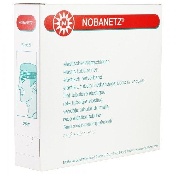 Netverband NOBANETZ Knie Maat 4 kleur wit