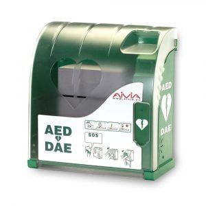 AIVIA 200 waterdichte & verwarmde AED buitenkast