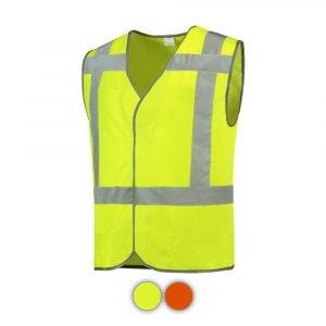 Veiligheidsvest in de kleur Geel onbedrukt