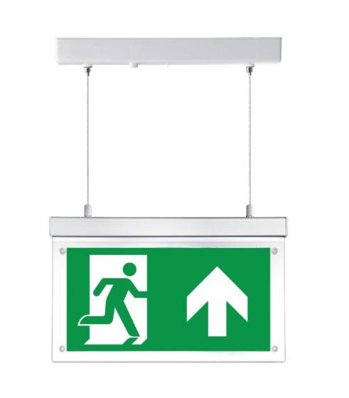 Noodverlichting LED Escalight opbouw,instelbare pendellengte